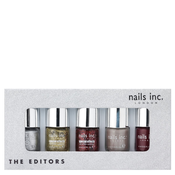 Nails inc the editors collection 5 products free - Nail salon marylebone ...