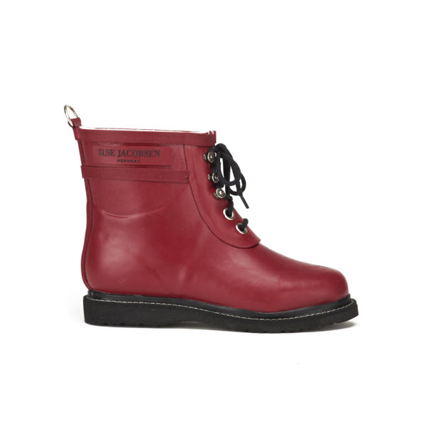 Ilse Jacobsen Women's Rub2 Classic Short Boots - Wine