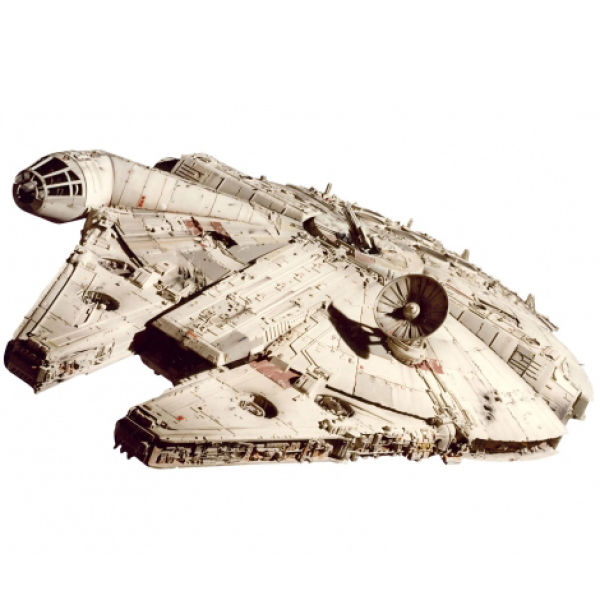 Hot Wheels Elite Star Wars Return of the Jedi Millennium Falcon Model
