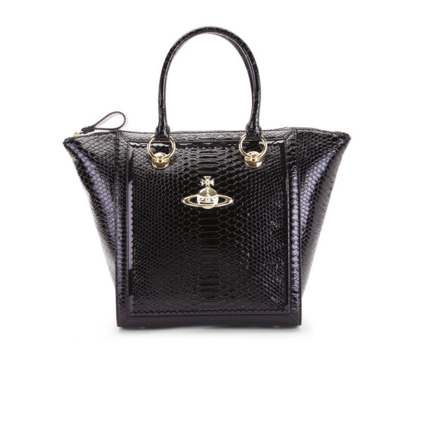 Vivienne Westwood Women's Frilly Wing Leather Tote - Black