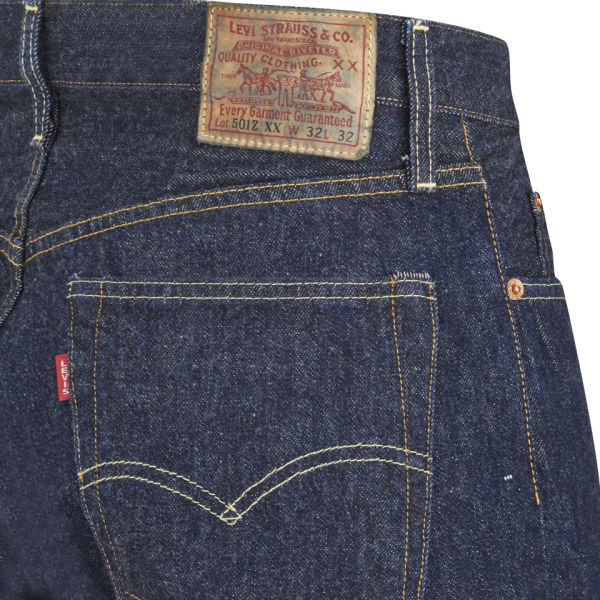 Levi's Vintage Men's 1954 501Z Tapered Fit Cone Mill US ...