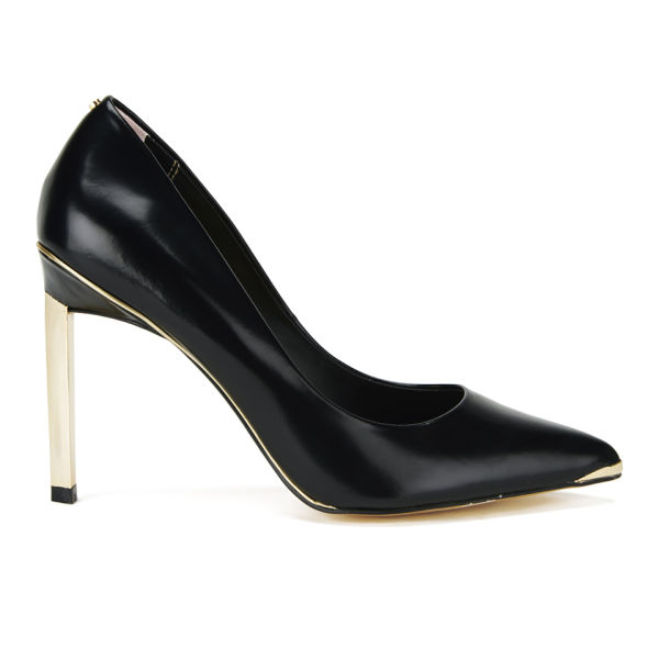 Ted Baker Women's Elvena Patent Leather Court Shoes - Black