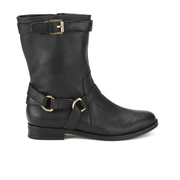 Lauren Ralph Lauren Women's Jael Leather Riding Boots - Black
