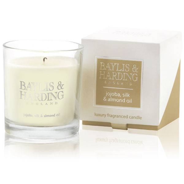Baylis & Harding Mosaic Jojoba, Silk and Almond Single Wick Candle