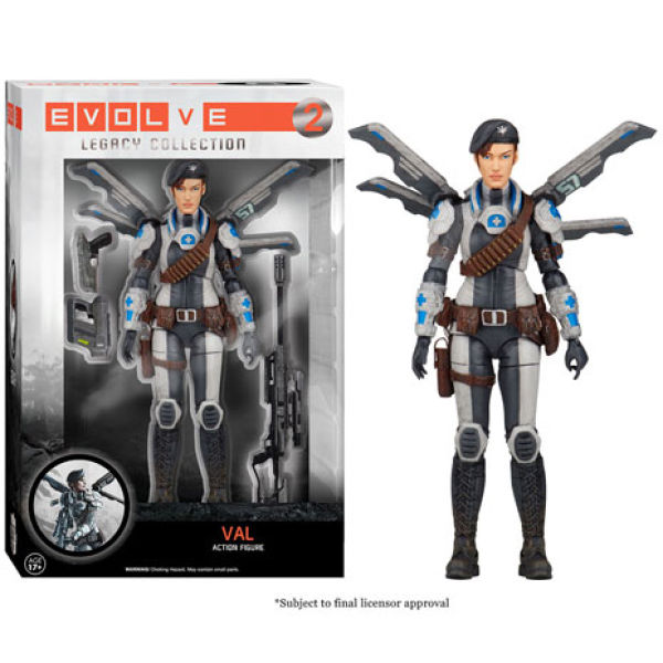 Evolve Val Legacy Action Figure