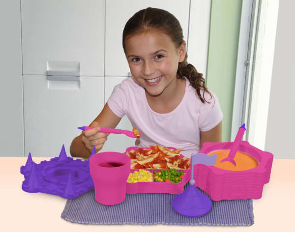 Princess Castle Dinner Set Iwoot