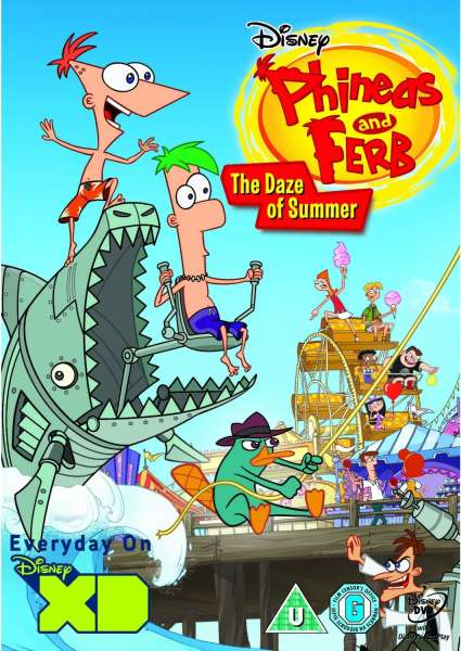 Phineas And Ferb Daze Of Summer Dvd Zavvi