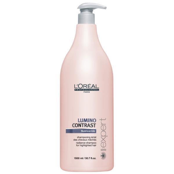 L'Oréal Professionnel Serie Expert Lumino Contrast Shampoing éclat des cheveux méchés (1500ml)