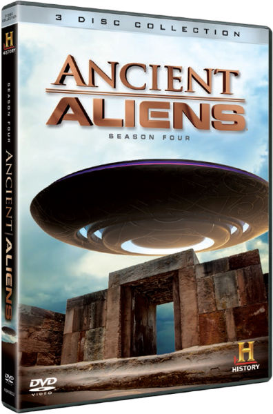 Ancient Aliens Season 4 Dvd Zavvi