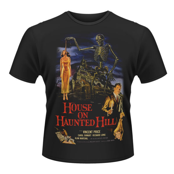 House On Haunted Hill Men S T Shirt Merchandise Zavvi