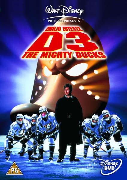 D3: The Mighty Ducks DVD | Zavvi