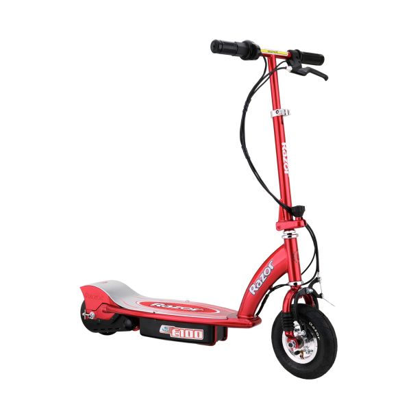 Razor e100 electric scooter red iwoot for Toys r us motorized scooter