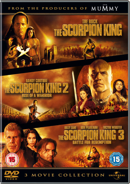 The Scorpion King 3 Movie Collection Dvd Zavvi