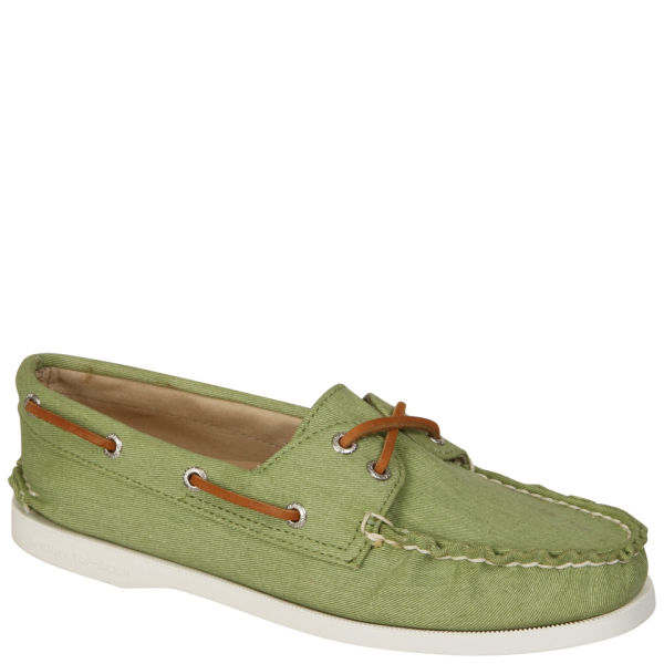 Sperry Women's AO 2-Eye Twill Shoe - Epsom
