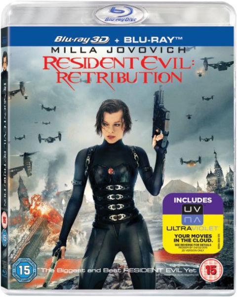 Resident Evil: Retribution 3D (Includes UltraViolet Copy)