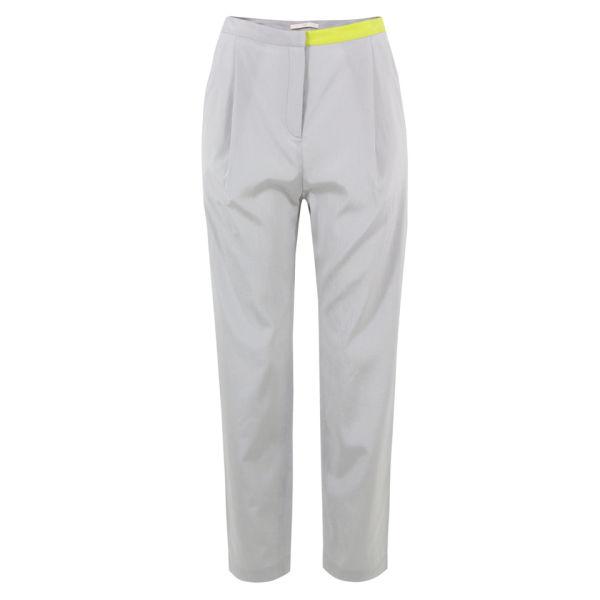 D.EFECT Women's Dennis Spring Trousers - Grey