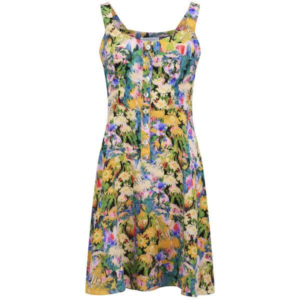Edina Ronay Women's Exclusive Garden Print Vintage Sundress - Multi