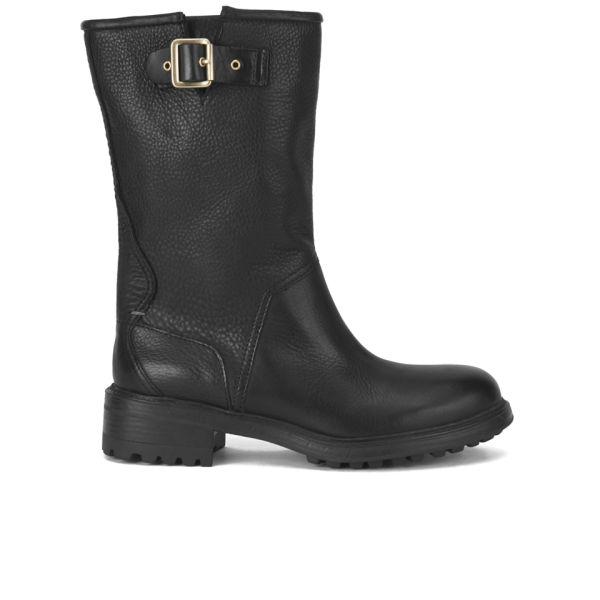 BOSS Orange Women's Brendan Leather Ankle Boots - Black