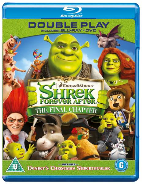 Shrek: Forever After (Includes Blu-Ray and DVD Copy)