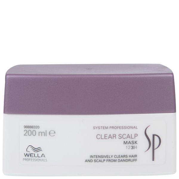 Masque purifiant antipelliculaire Wella SP Clear Scalp 200ml
