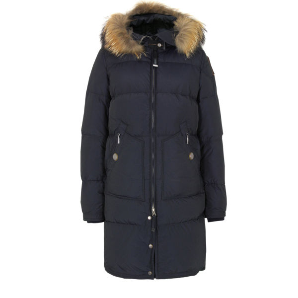 Parajumpers Women's Light Long Bear Coat - Navy: Image 1