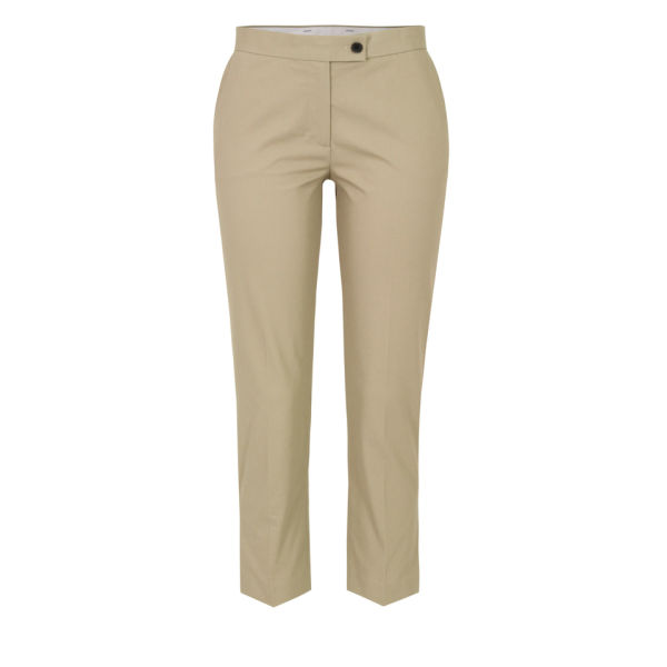 Joseph Women's 3085 Quentin Cropped Trousers - Beige