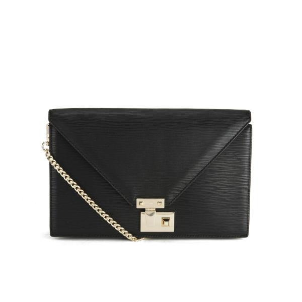Rebecca Minkoff Paris Leather Clutch Bag - Black
