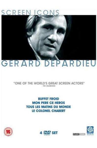 Gerard Depardieu - Screen Icons