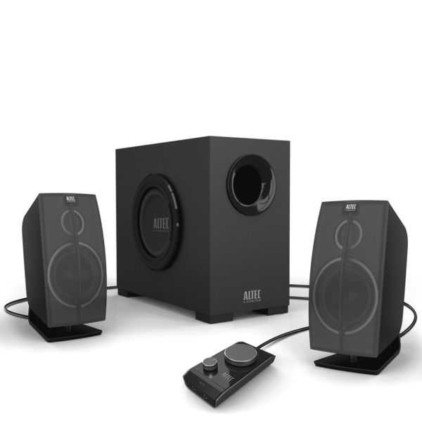 Altec Lansing PC Audio System: Octane 2 1 with 4 Inch Powered Subwoofer