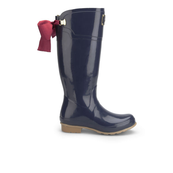 Joules Women's Evedon Wellies - French Navy