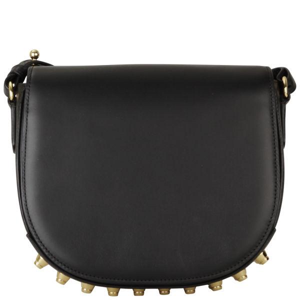 Alexander Wang Small Lia Leather Bag - Black