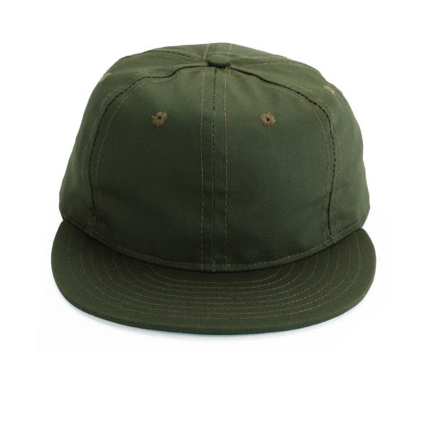 Ebbets Field Flannels Plain Cap - Olive Drab