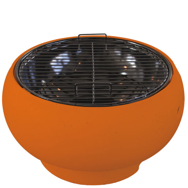 Supagrill Pod Table Top Bbq Orange Iwoot