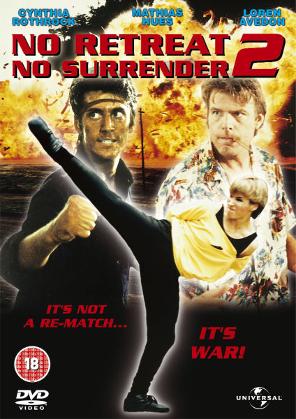 NO RETREAT NO SURRENDER 2  RAGING THUNDER DVD