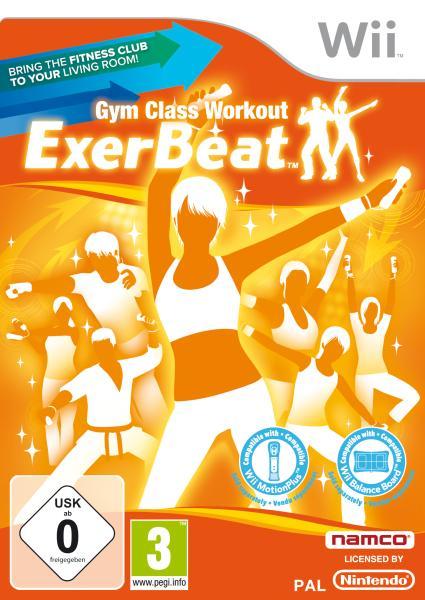 Exerbeat gym class workout nintendo wii zavvi for Gimnasio wii fit