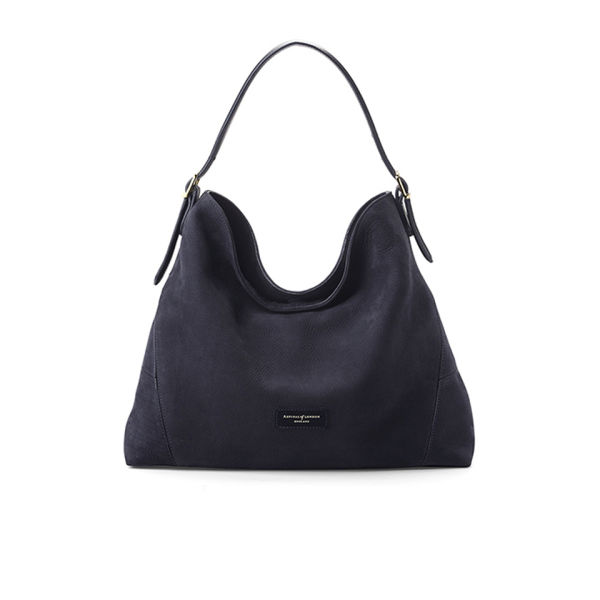Aspinal of London Women's 'A' Hobo Bag - Navy