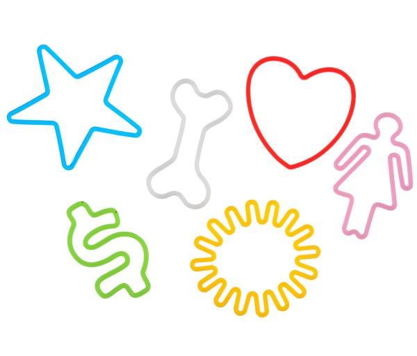 Silly Bandz Fun Shapes Gifts | Zavvi
