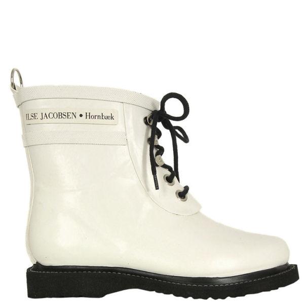 Ilse Jacobsen Women's Rub 2 Boots - White