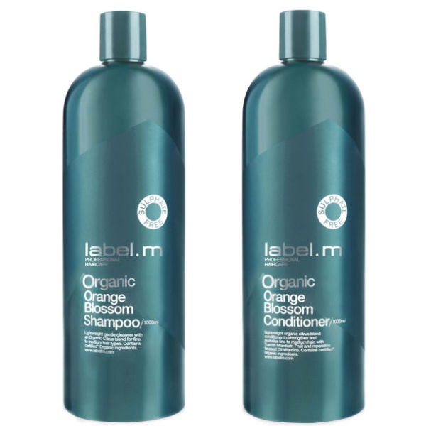 Label M Organic Orange Blossom Shampoo Amp Conditioner