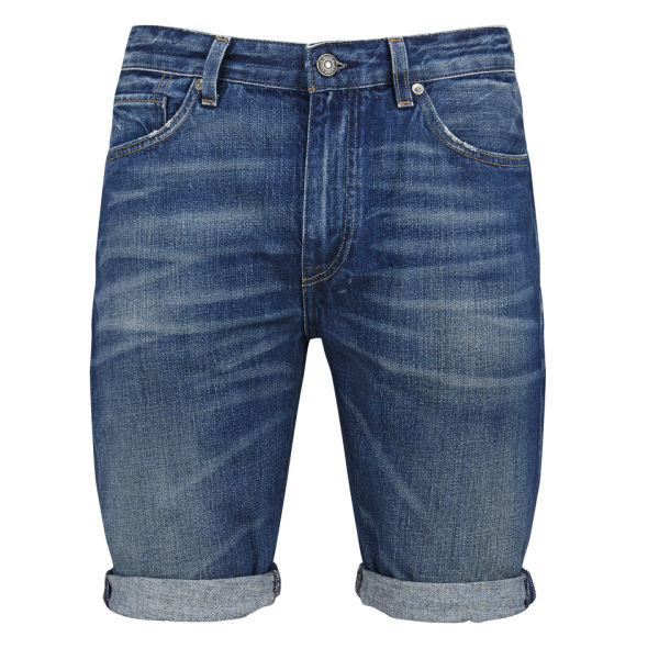 levi 39 s made crafted men 39 s mid rise shuttle denim shorts. Black Bedroom Furniture Sets. Home Design Ideas