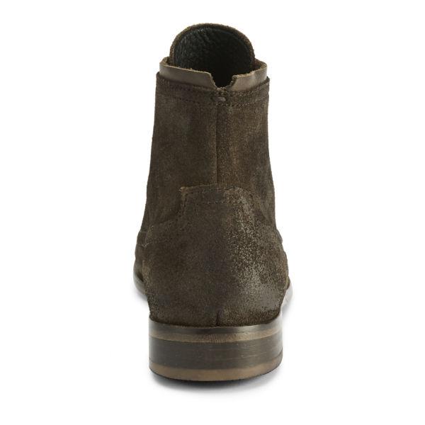 hudson s railton dip dye suede boots brown