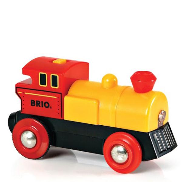 Locomotive à pile bidirectionnelle jaune -Brio