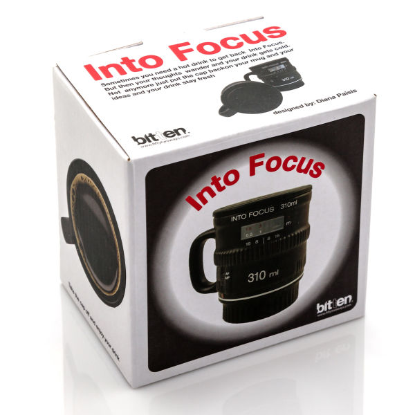 Ceramic Camera Lens Mug Iwoot