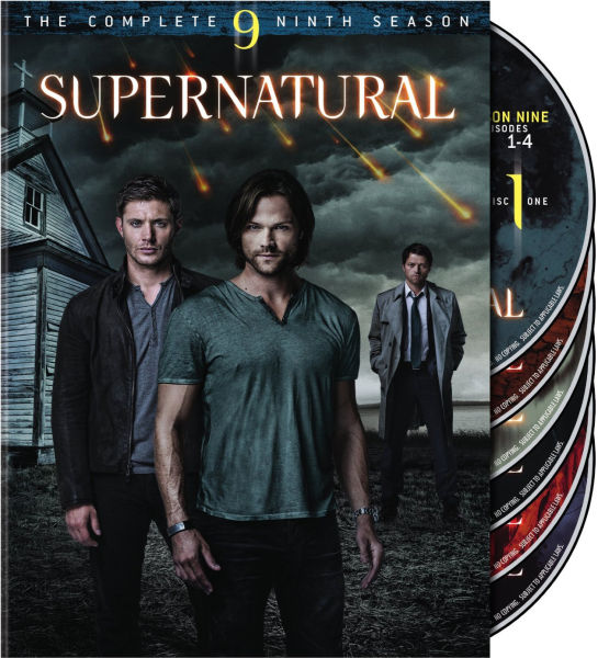 Supernatural season 9 blu ray zavvi supernatural season 9 image 1 voltagebd Image collections