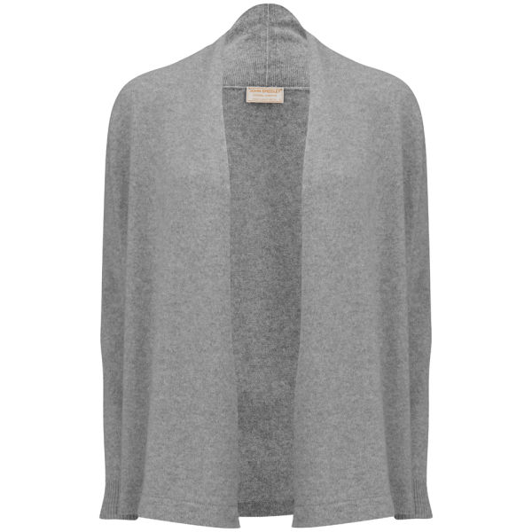 John Smedley Women's Betty Wrap Cashmere Blend Cardigan - Silver ...