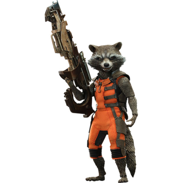 Hot Toys Guardians of the Galaxy Rocket Raccoon 1:6 Scale ...