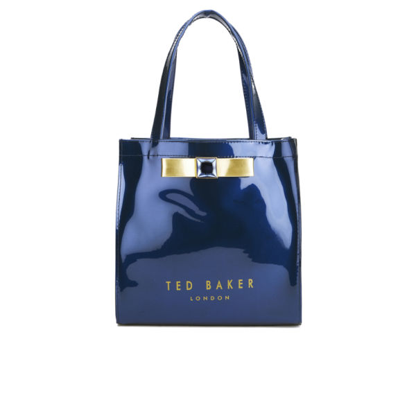 e44aa877a46e4 Ted Baker Women s Precon Embellished Bow Tote Bag - Dark Blue  Image 1