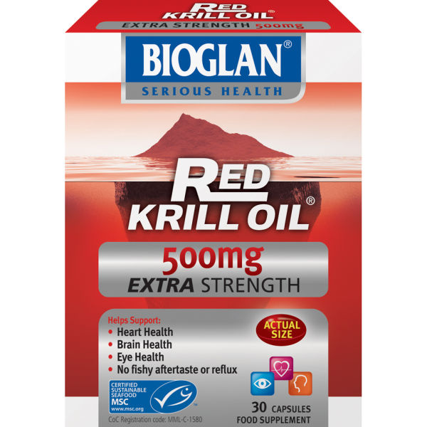 Bioglan Red Krill Oil (500 mg) (30 kapslar)
