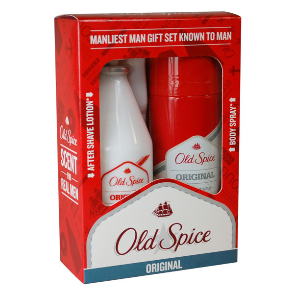 Old Spice Original Set (100ml Aftershave, 150ml Body Spray): Image 1