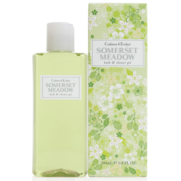 Crabtree & Evelyn Somerset Meadow Bath and Shower Gel